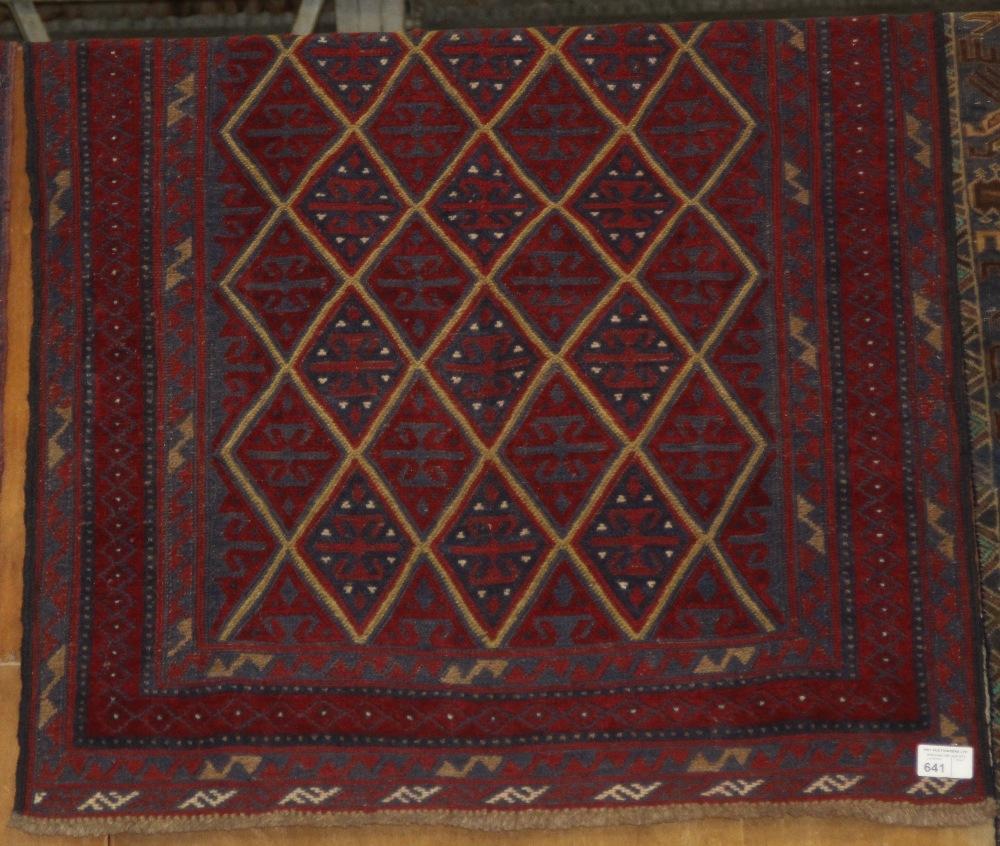Lot 641 - NV- a tribal Gazak rug. Approx. 137 X 117cm