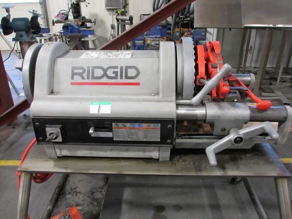 Lot 1 - L2: RIDGID 1224 POWER THREADER