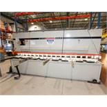 (2003) DURMA CNC SHEAR MOD. CNC HGM 4016, 4 METER X 16 MM CAP., BACK GAUGE, NEW KNIFE IN 2018 , S/N: