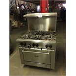SUN FIRE GAS RANGE WITH OVEN