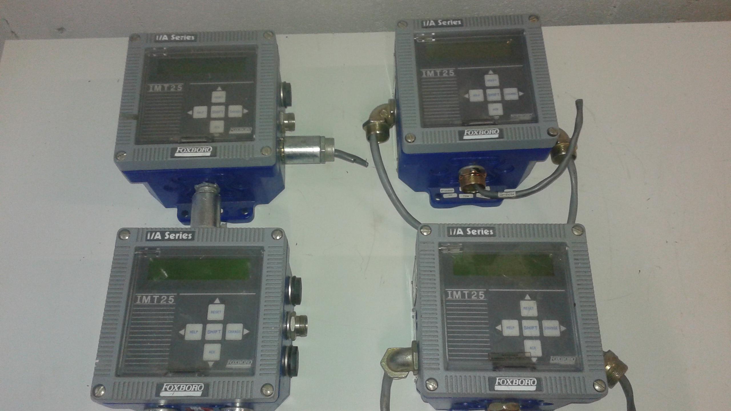(1) LOT (4) Foxboro Magnetic Flow Transmitters, Model IMT25-PDADB20K-BG - LOCATION - LONDON, ONTARIO