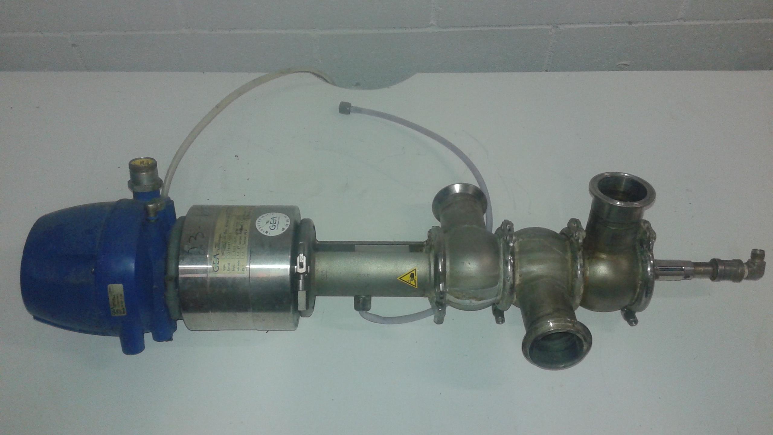 GEA 2 inch valve 316 stainless steel - LOCATION - LONDON, ONTARIO