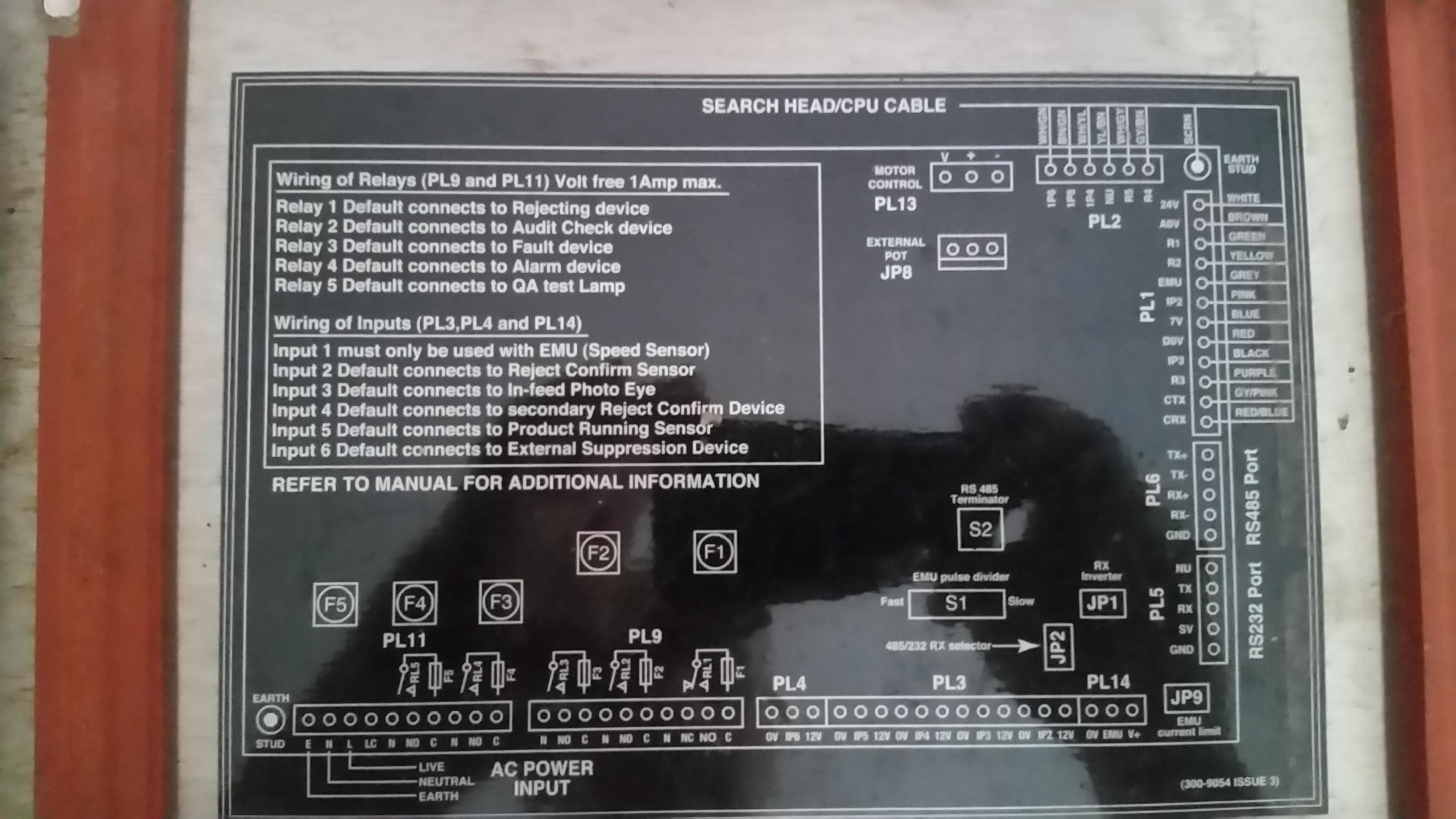 Thermo Goring Kerr Model DSP 3 Metal Detector S/N 06298304 - LOCATION - LONDON, ONTARIO - Image 4 of 4