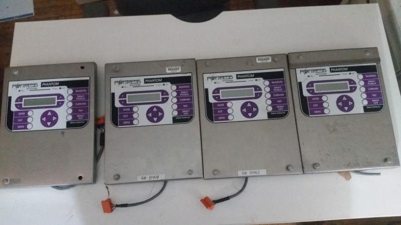 (1) LOT (4) Fortress Phantom Metal Detector Key Pad - LOCATION - LONDON, ONTARIO