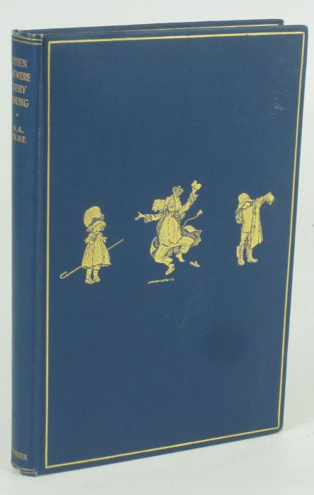 Lot 40 - Milne, A.A. When we were very young. London: Methuen & Co., 1924. First edition, second issue with