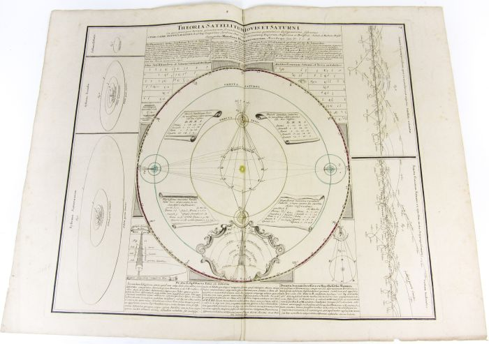 Lot 21 - Celestial maps - Doppelmayr, Johann Gabriel Theoria satellitum Iovis et Saturni. Nuremberg: