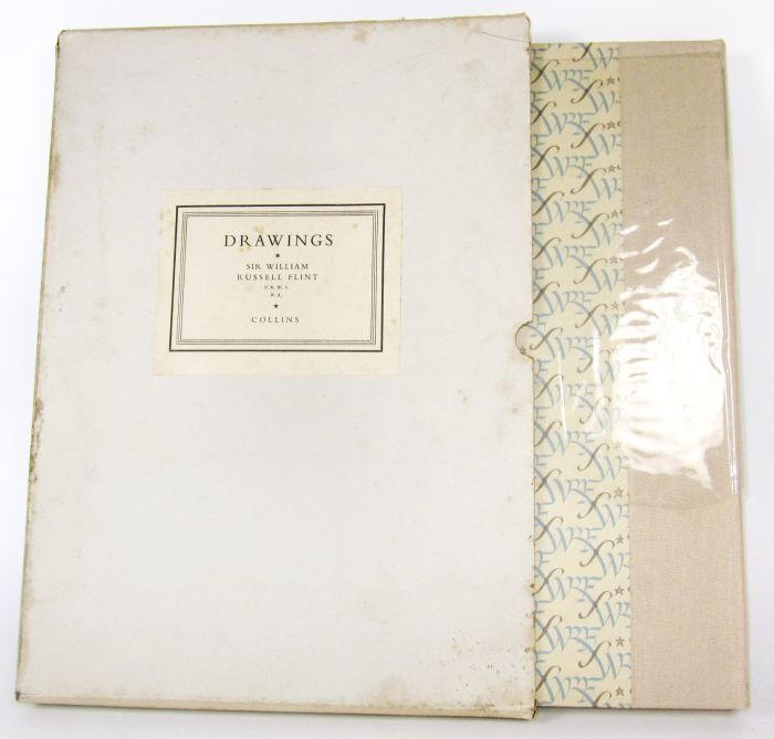 Lot 8 - Flint, Sir William Russell Drawings. London, 1950. Folio, number 68 of 500 copies, plates, quarter
