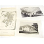Scottish topographical prints, a large collection, comprising 1033 mainly 8vo/12mo-sized prints of