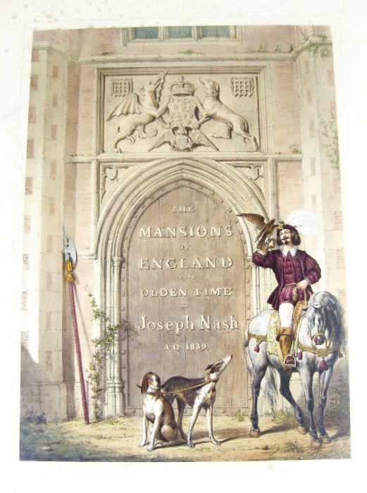 Lot 13 - Nash, Joseph The mansions of England in the olden time. [London], 1839-1849. 4 portfolios containing