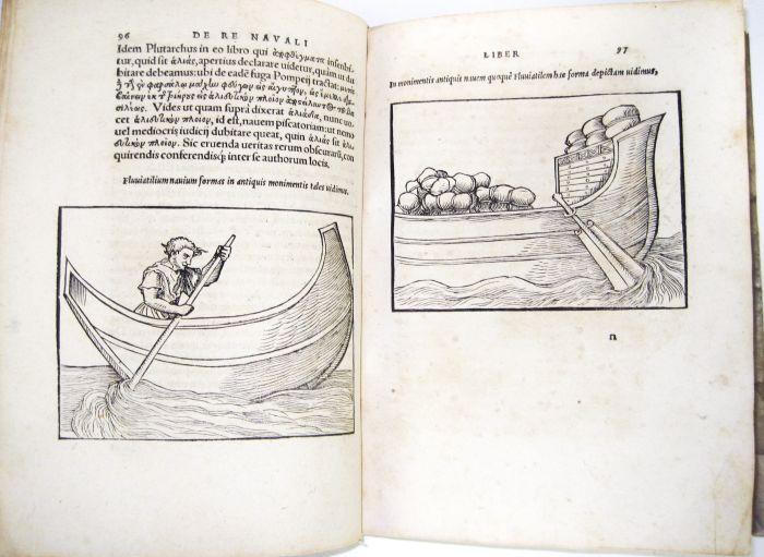 Lot 46 - Baif, Lazare - Lazarus Bayfius Annotationes in legem II... de re navali... annotationes in tractatum