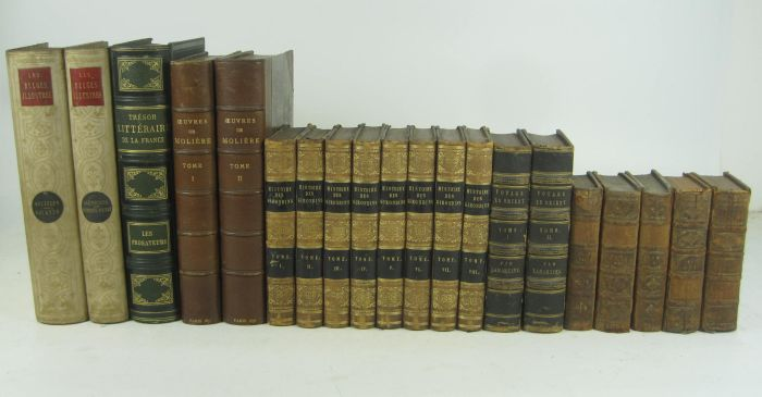 Lot 50 - French history and literature, including Martin, Henri Histoire de France. Paris, 1855-1860. 16