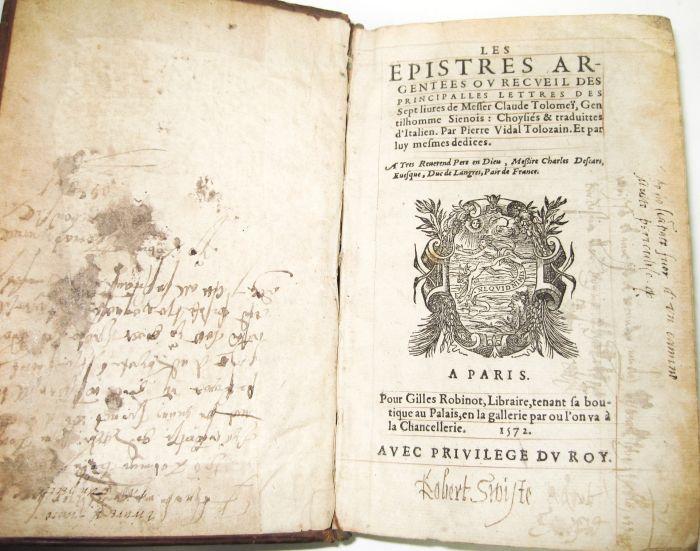 Lot 48 - 4 Sixteenth century volumes, comprising Dionysius Halicarnassis Antiquitatum. Lyons: I.