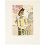 Braque, Georges Braque. Paris: Ferdinand Mourlot, 1945. 4to (365 x 280mm.), copy number 155 from a