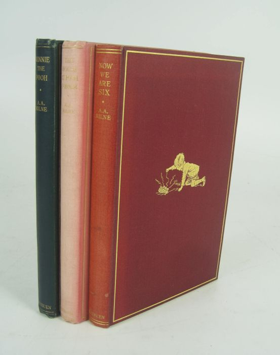 Lot 41 - Milne, A.A. Winnie-the-Pooh. London: Methuen & Co., Ltd., 1926. First edition, 8vo, original green