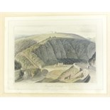 Daniell, William 7 framed and glazed prints by William Daniell, comprising: Duntulm, Isle of Skye,
