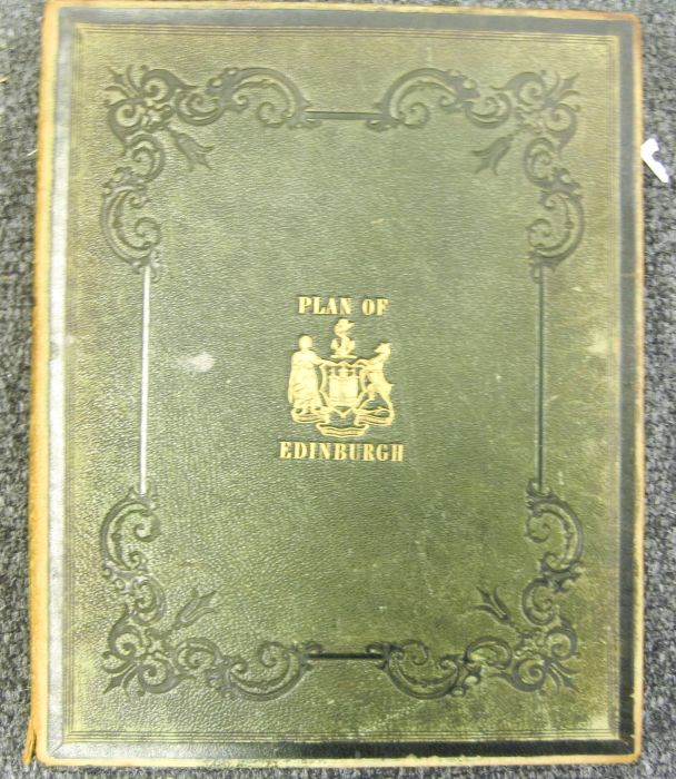 Lot 24 - Edinburgh - Johnston, W. and A.K. and Alfred Lancefield Johnston's plan of Edinburgh & Leith in