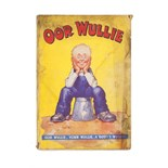 Watkins, Dudley D. Oor Wullie annual. London, Manchester & Dundee: D.C. Thomson & Co., [1940]. First