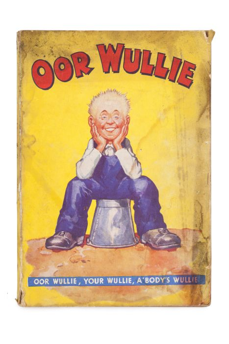 Lot 44 - Watkins, Dudley D. Oor Wullie annual. London, Manchester & Dundee: D.C. Thomson & Co., [1940]. First