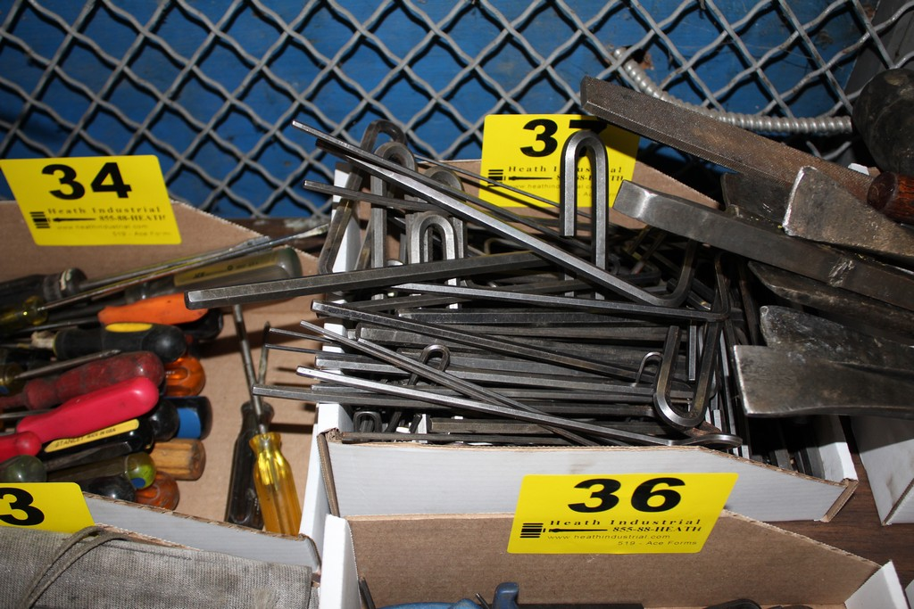 Lot 37 - LARGE QTY OF ALLEN WRENCHES IN BOX