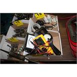(3) ELECTRICAL TESTERS: SPEERY DM6400, GE AC VOLT AMPMETER, SIMPSON