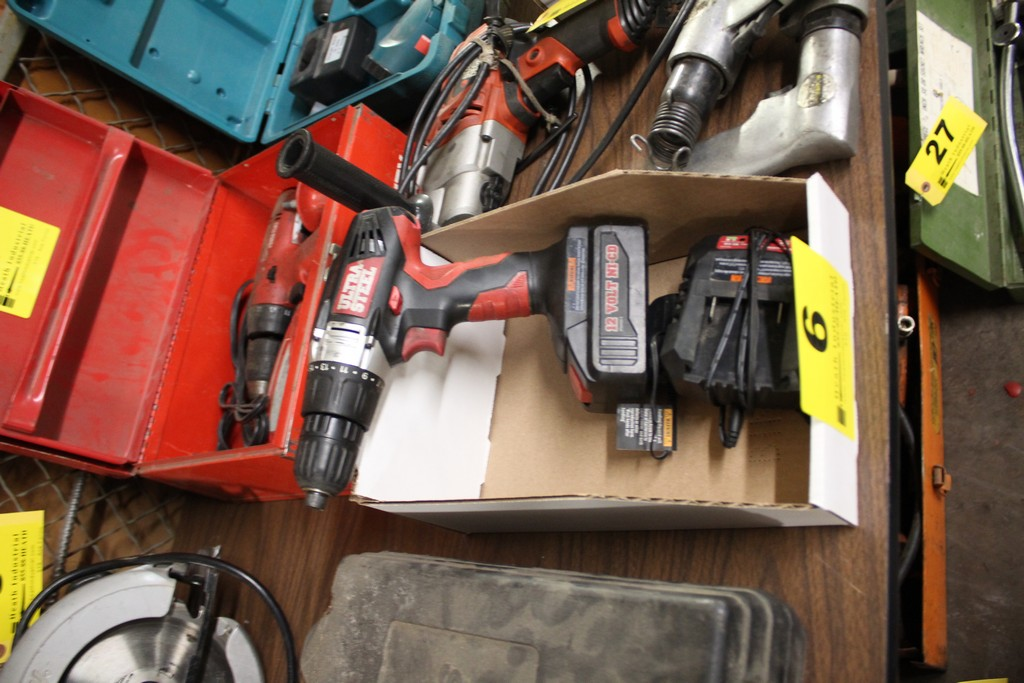 ULTRA STEEL 12V CORDLESS DRIVER WITH CHARGER
