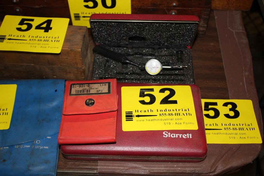 Lot 52 - ASSORTED DIAL INDICATORS