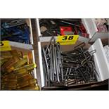 LARGE QTY OF ALLEN WRENCHES IN BOX