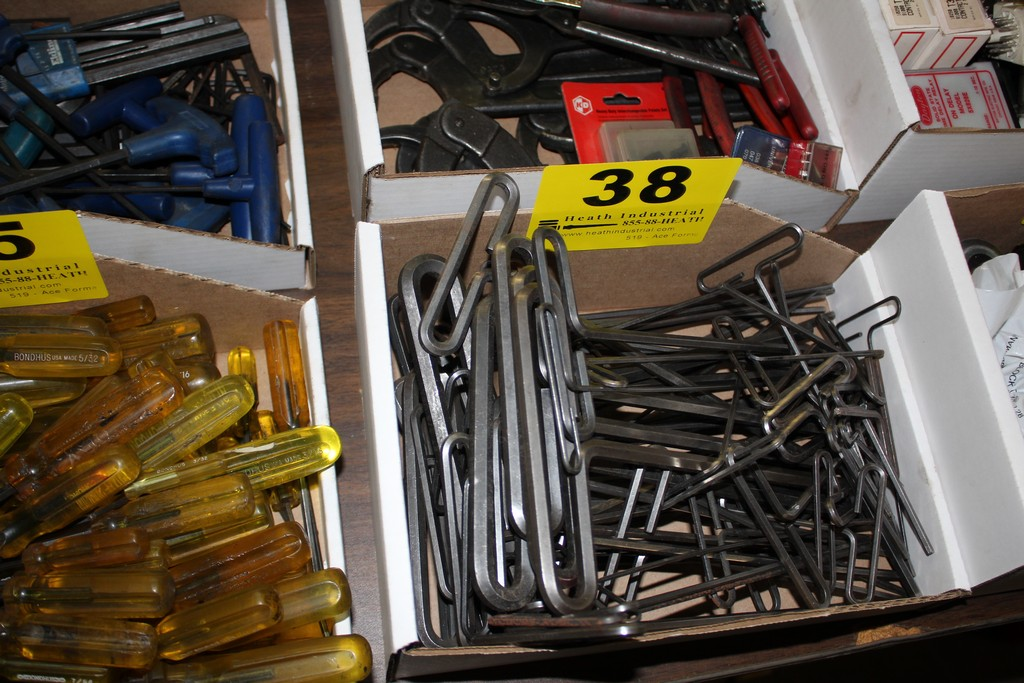 Lot 38 - LARGE QTY OF ALLEN WRENCHES IN BOX