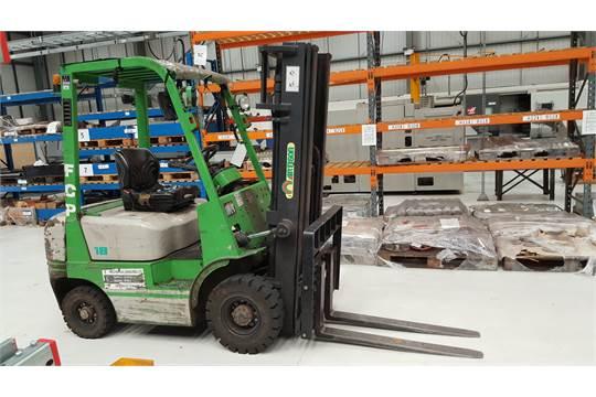 Artison FD18 Diesel Forklift Truck, Year of Manufacture
