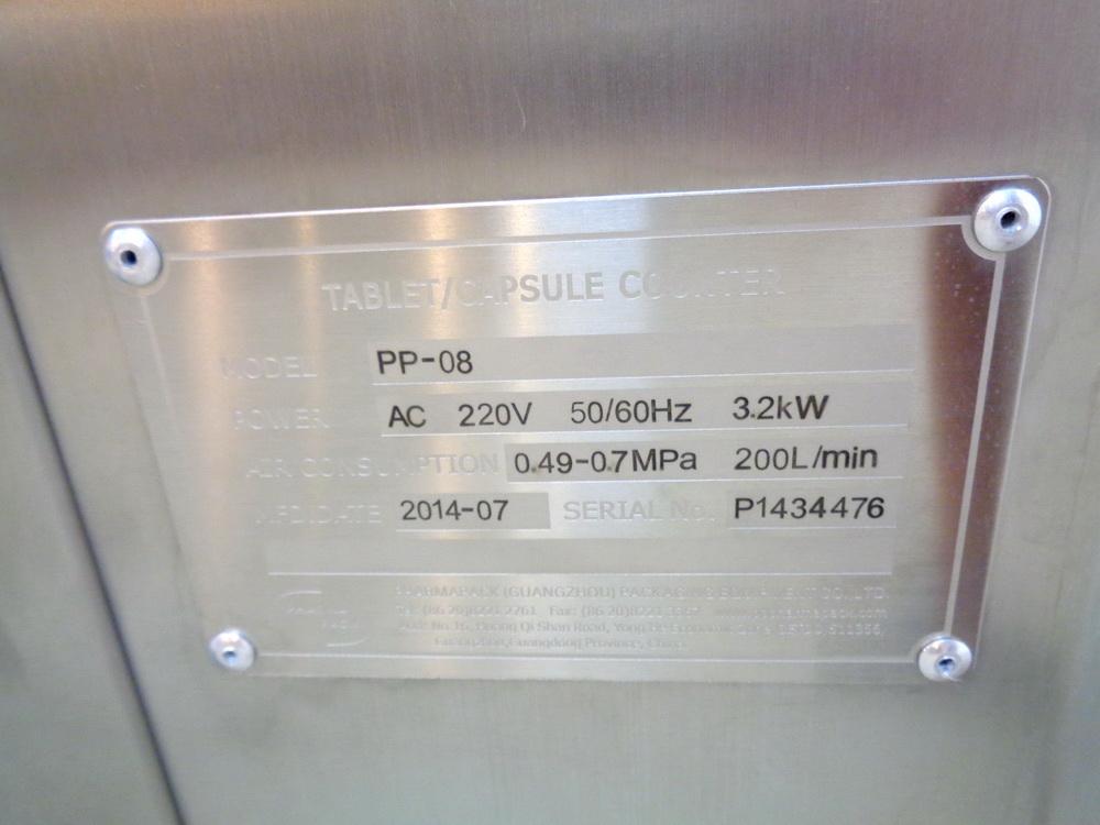 Lot 31 - PharmaPack 16 Lane Tablet/Capsule Channel Counter, Model PP-08, S/N P1434476