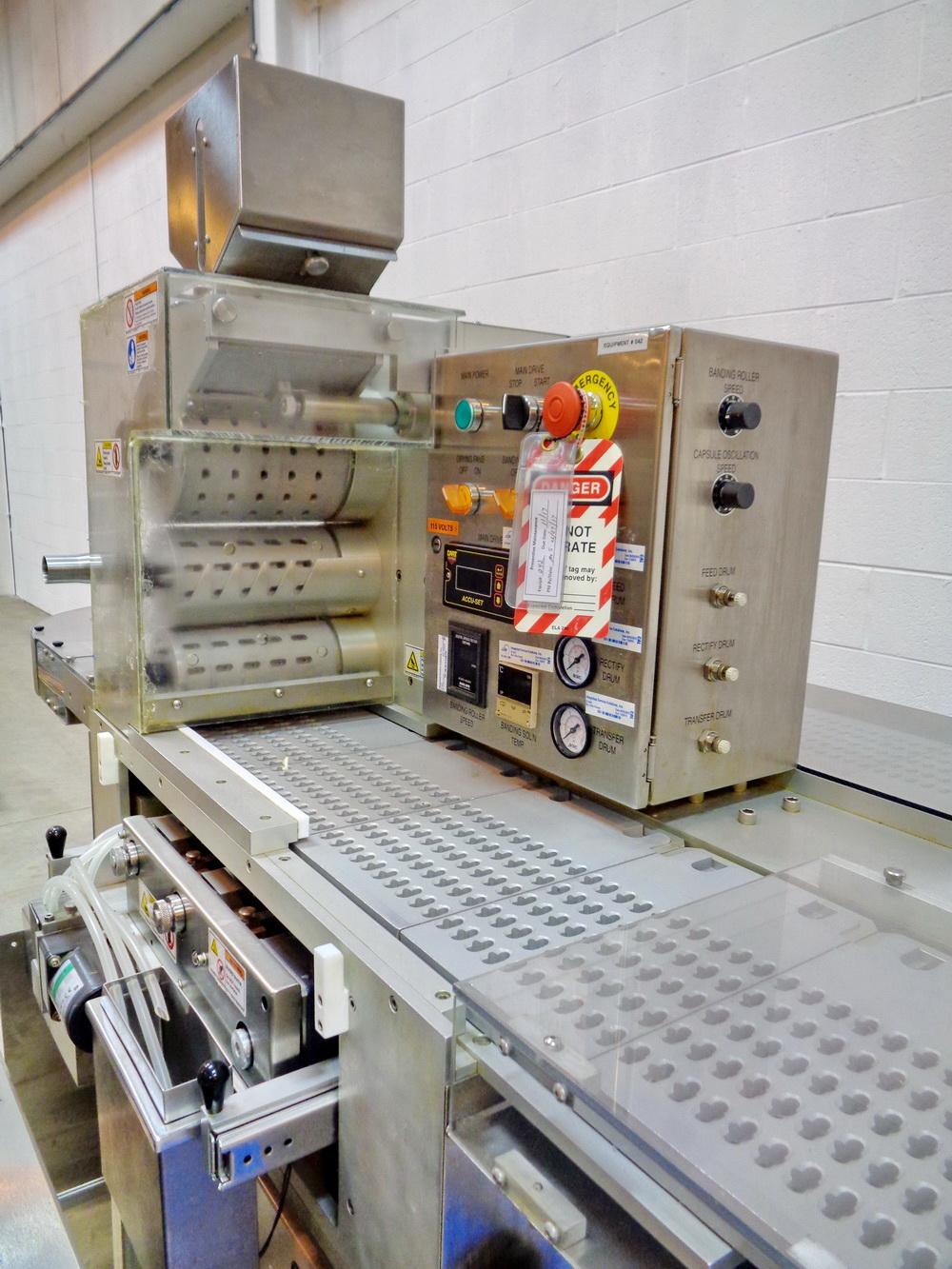 Lot 2 - Schaefer Automatic Capsule Bander, Model CB-15, S/N CB-002-15