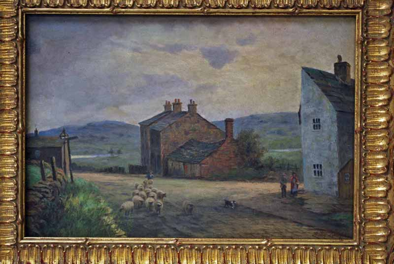 Lot 56 - Arthur Knowles (1875-1950), Bobs Smythy Bolton, signed oil on canvas titled and dated 1928 verso,