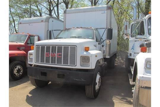 1992 gmc topkick box truck diesel cat 3116 170 hp motor 5 speed rh bidspotter com 1996 gmc topkick owners manual gmc topkick service manual