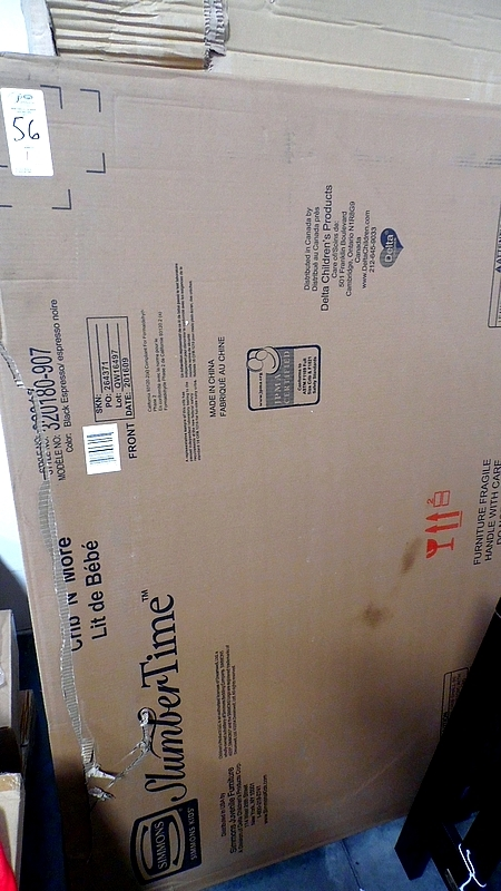 SUMMER TIME BABY BED (IN BOX BLACK EXPRESSO)