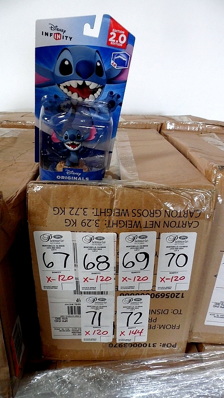 DISNEY INFINITY STITCH WORKS WITH STARTER PACK (5 CASES)