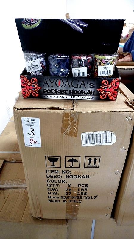Lot 3 - PC. OF AYOAGA'S POCKET HOOKAH