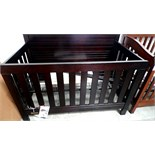 SUMMER TIME BABY BED (BLACK EXPRESSO)