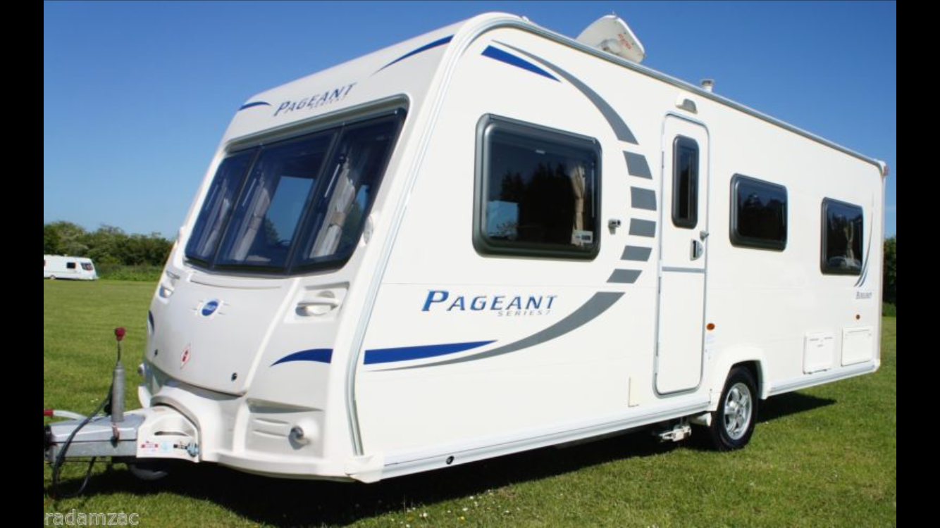 Luxury Elddis Affinity 574 4 Berth 2014 Used  Good Condition
