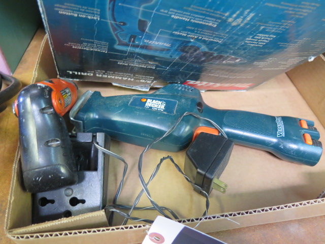 Makita Hammer Drill and Black & Decker Cordless Jig Saw (SOLD AS-IS - NO WARRANTY) - Image 3 of 4