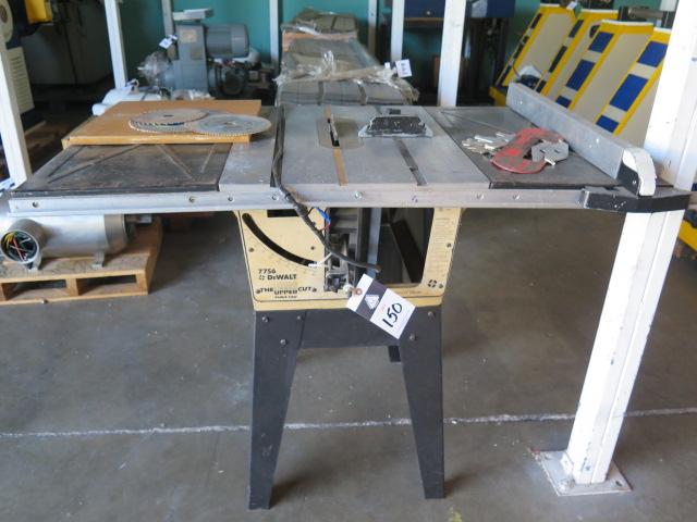 DeWalt mdl. 7756 Tilting Arbor Table Saw w/ Fence System (SOLD AS-IS - NO WARRANTY)