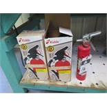 Fire Extinguishers (SOLD AS-IS - NO WARRANTY)
