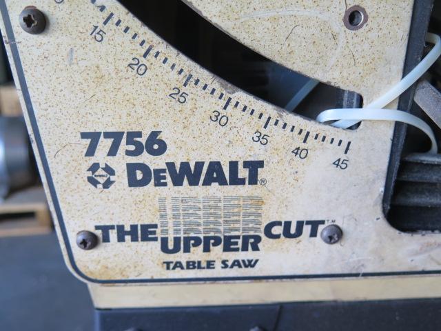 DeWalt mdl. 7756 Tilting Arbor Table Saw w/ Fence System (SOLD AS-IS - NO WARRANTY) - Image 3 of 3