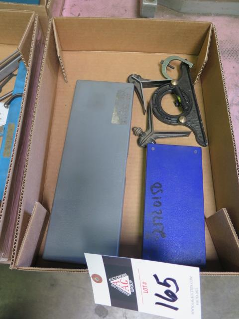 Planer Gage and Protractors (SOLD AS-IS - NO WARRANTY)