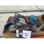 Porter Cable Belt Sandwer and Makita Pad Sander (SOLD AS-IS - NO WARRANTY)