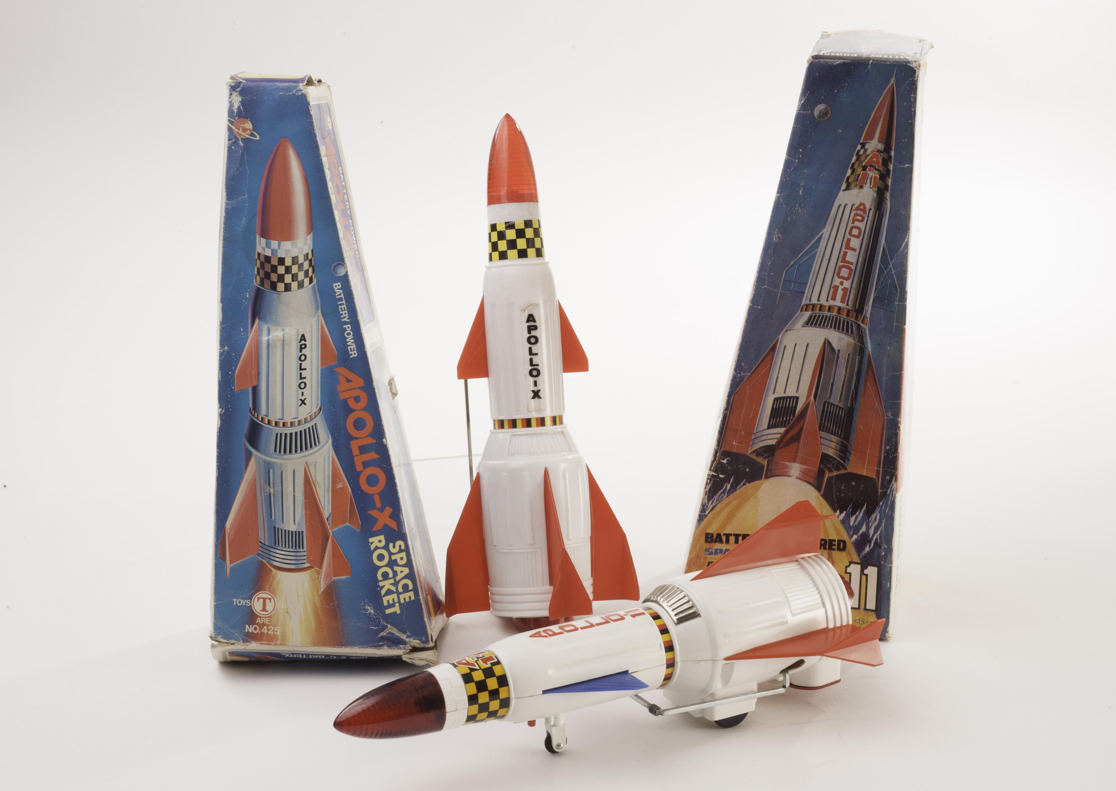 A Nomura (TN) Japan Space Rocket Apollo-11, late white