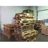 Including assorted pallets (approx 90)