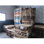 Including assorted pallets (approx 50)