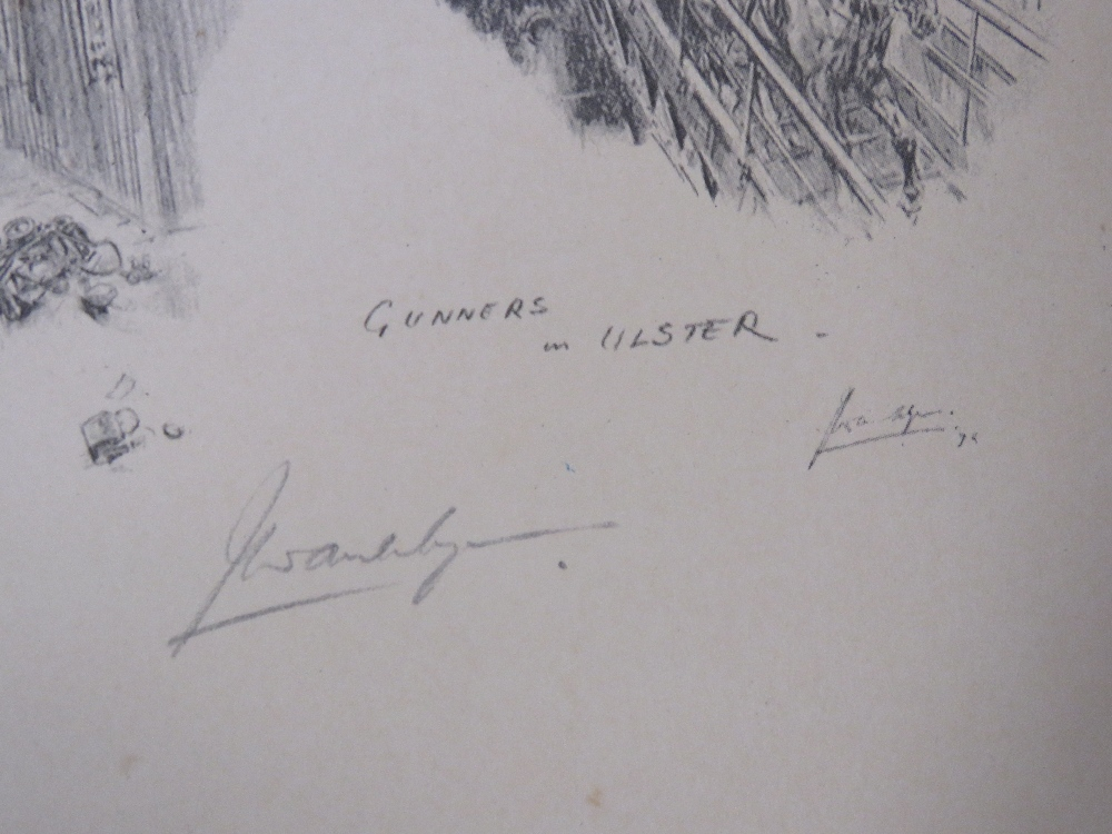 Signed print; Joan Wanklyn (1924 - 1999) - Image 2 of 5