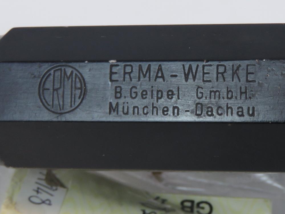 Lot 115 - A deactivated (EU Cert) West German Heym