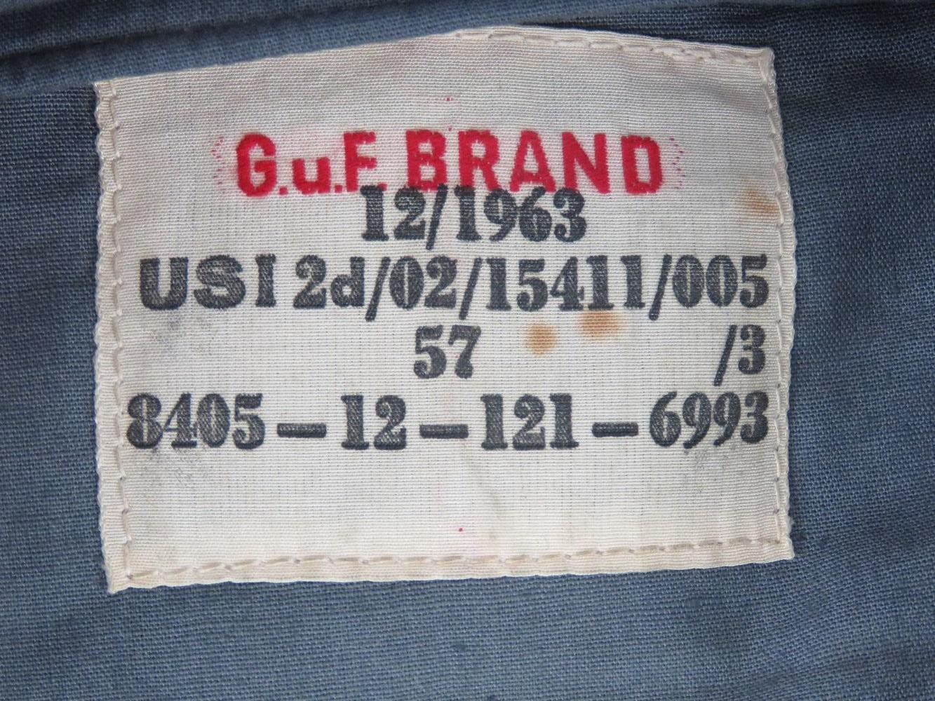 An East German blue cloth side cap havin - Image 2 of 2